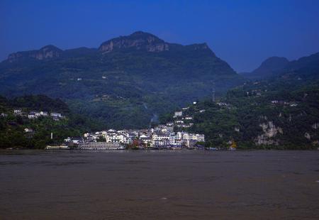 Xiling gorge scenery Stock Photo