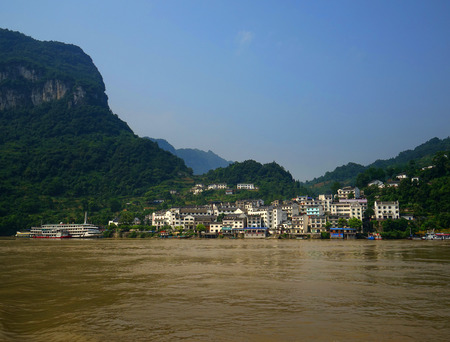The three gorges scenery Editorial