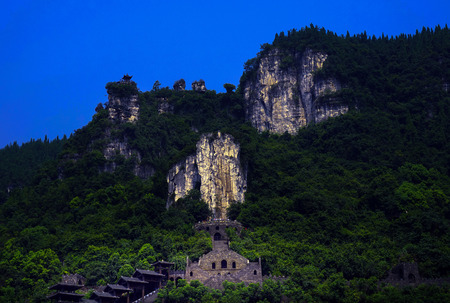 Scenery of the Three Gorges