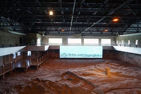 site: Dinosaur fossil site