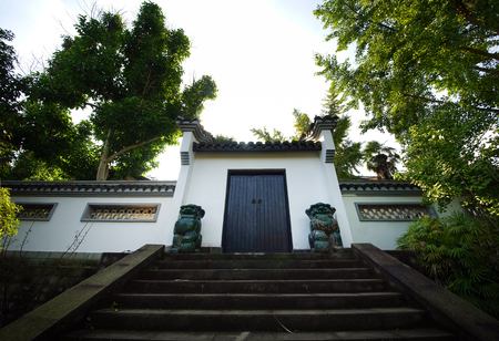 hometown: The hometown of Chen Yi building