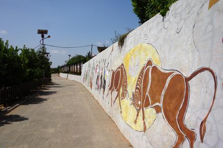 culture: Village culture wall art