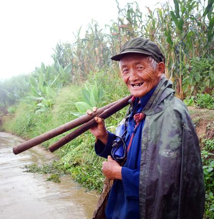 old farmer: Old farmer