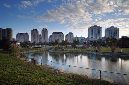 Yangfushan Park Stock Photo