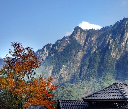 대딩 산의 경관