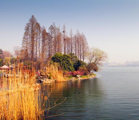 Lake of autumn