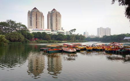 West Lake boat Editorial