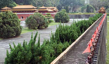 The Imperial Palace city wall in China Folk Culture Villages