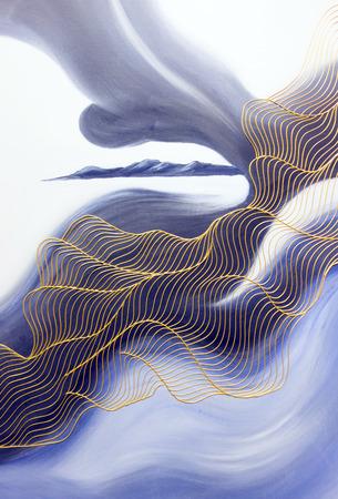 모래 해변 장식 그림 에디토리얼