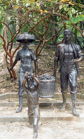 Hakka statue Stock Photo