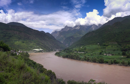 Jinsha River Grand Canyon
