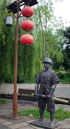 su: Naxi statue
