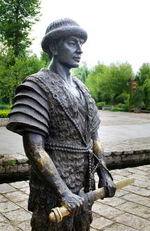 Naxi statue