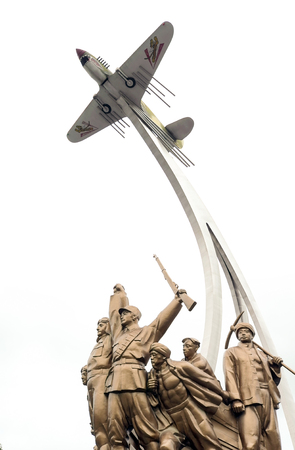 Flying Tigers statue Editorial
