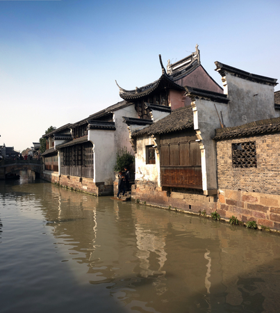 reaches: Wuzhen scenery Stock Photo