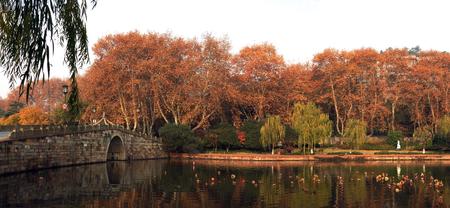 West Lake scenery Stok Fotoğraf