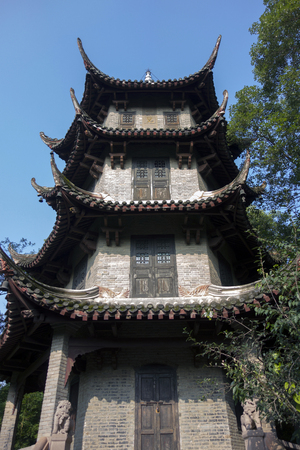 pagoda at Du Fu thatched cottage