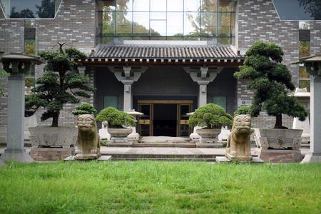 Exterior landscape view of Yi Garden Building