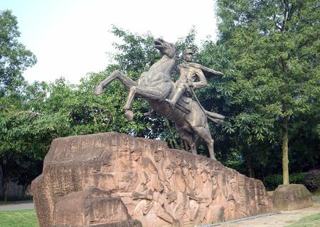 劉 Xiang 像外観風景 報道画像