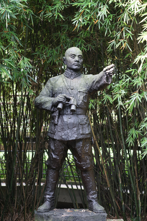 劉翔外部景観の像