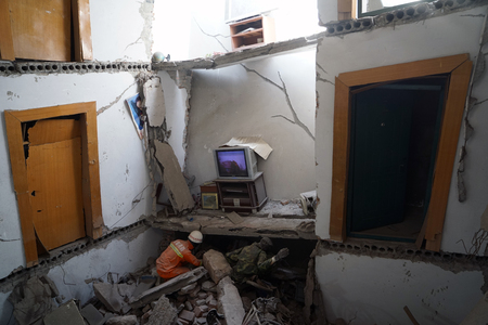 Groot aardbevingsscenario Redactioneel