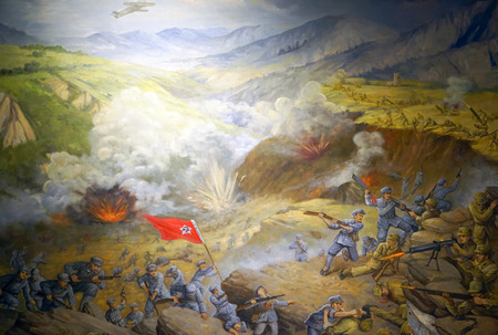 Counter encirclement and suppression at jianchuan museum