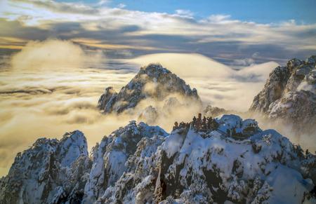 Mount Huangshan snow