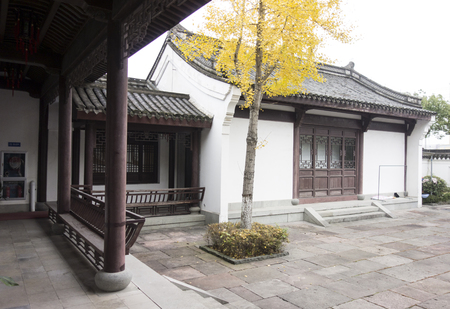 Ming and Qing architecture at Yinzhou Binhai museum
