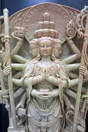 guanyin carving statue