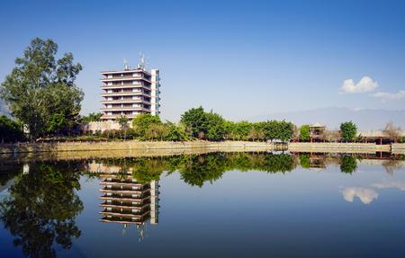 Nursing home at lakeside