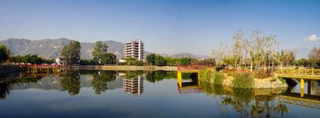 Lakeside architecture