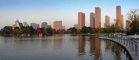 Yinzhou park scenery