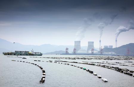 Bay aquaculture base
