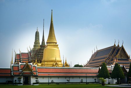 The Grand Palace architecture Editorial