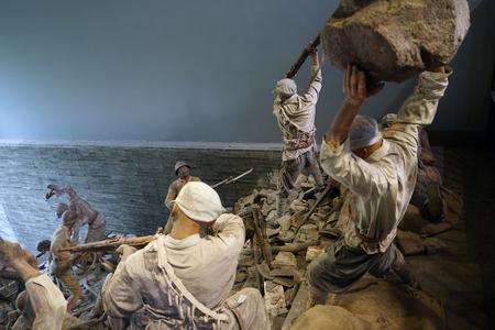 Anti Japanese battlefield at  jianchuan museum 新聞圖片