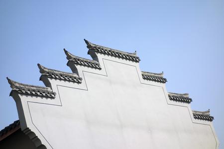 ancient achitecture Eaves at Huizhou