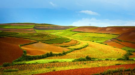 palette terraces landscape scenery view