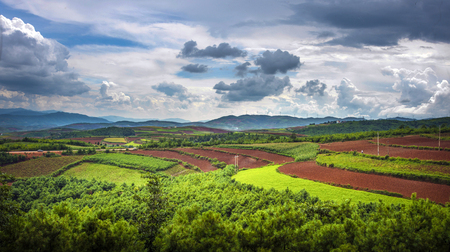 red dirt landscape scenery view