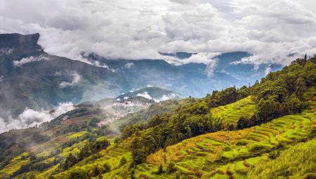 Ailao Mountain Scenery landschapsmening