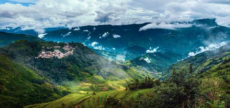 Ailao berglandschap landschapsmening