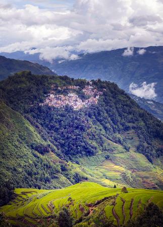 Berglandschap landschapsmening Stockfoto