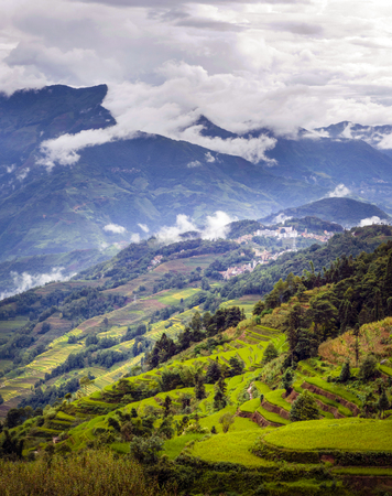Ailao Mountain landschapsmening