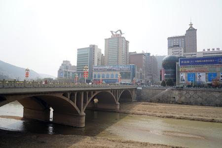 Architectural scenery in Yanan