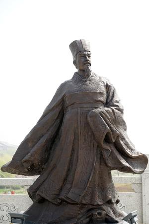 Zhang Yi statue