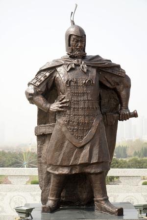 Bai Qi statue Redakční