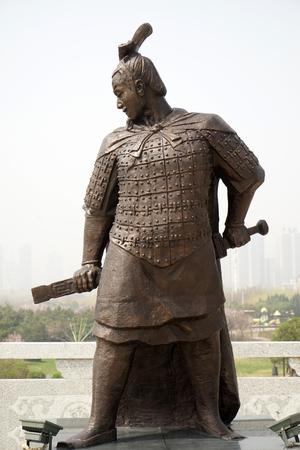 Meng Tian statue Editorial