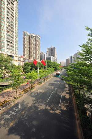 Shenzhen Wen jin North Road scenery 스톡 콘텐츠 - 101324912
