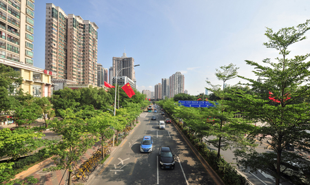 Shenzhen Wen jin North Road scenery
