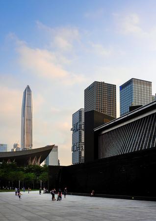 Shenzhen Library building
