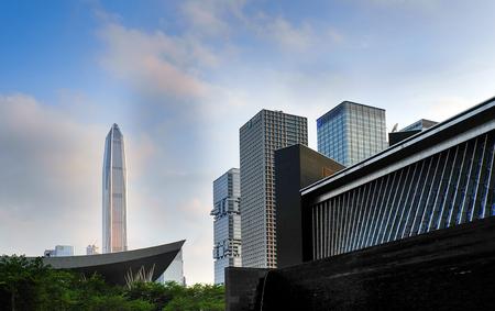 Shenzhen City Center Building scenery